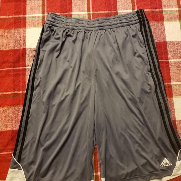 adidas Other - Men's Adidas Basketball Shorts Size: Lg Tall